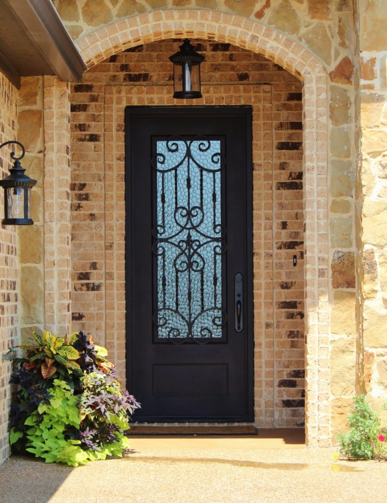Iron envy doors wrought iron front doors dallas estrella sq rubansaba