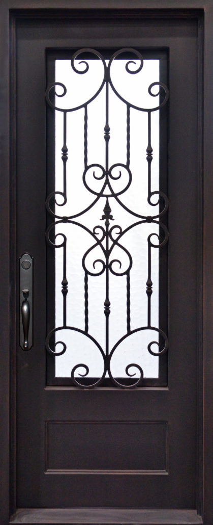 Wrought Iron Front Doors Dallas